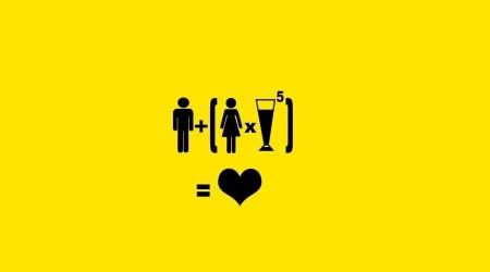 La Matematica non sbaglia! Ecco cosa succede ad immischiare donne e alcool!