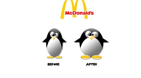 McDonald's… Prima e dopo…