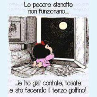 Immagine Divertente Mafalda Per La Buonanotte Immagini Divertenti