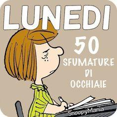 Lunedi 50 sfumature di occhiaie immagini divertenti for Vignette buongiorno divertenti