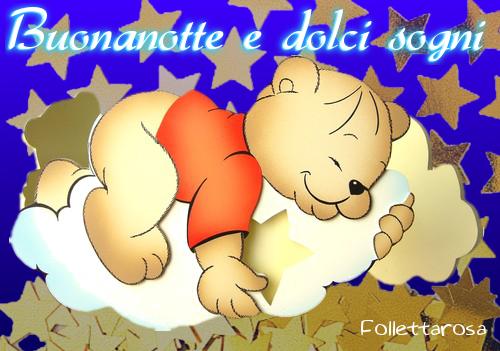 Immagine Buonanotte Orsetto Immagini Divertenti