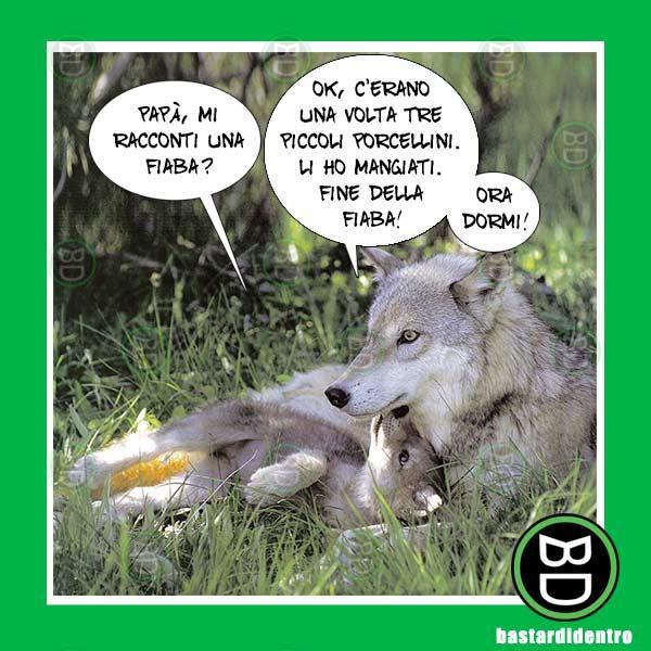 Immagine divertente lupi immagini divertenti for Immagini divertenti con frasi gratis
