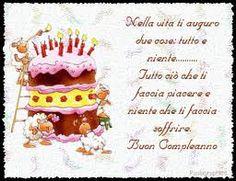 Immagine Divertente Per Auguri Di Buon Compleanno Con Torta