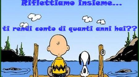 Immagine Divertente Buon Compleanno Snoopy E Charlie Brown