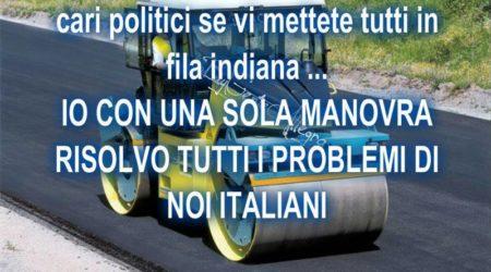 Cari politici se vi mettete tutti in fila indiana for Tutti i politici italiani