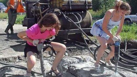 immagini divertenti e Foto Divertenti Donne Al Lavoro