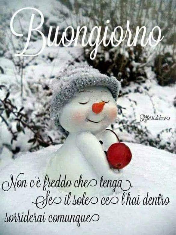 immagini divertenti e immagini divertenti buongiorno neve